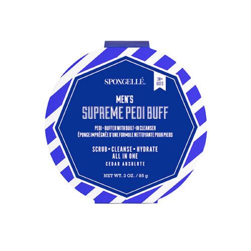 pedi buffer, spongellé, spongelle, mens gift, foot care, diva by tina, gift, pedicure, for men